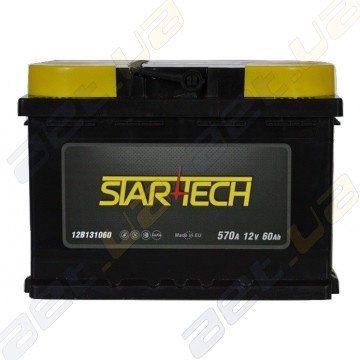 Аккумулятор Startech 60Ah L+ 570A (низкобазовый)