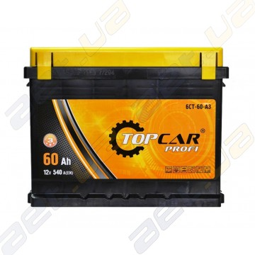 Акумулятор TOP CAR Profi 60Ah R+ 540A