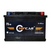 TOP CAR Expert 75Ah R+ 570A