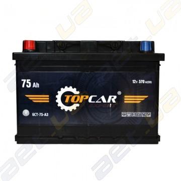 Автомобильный аккумулятор TOP CAR Expert 75Ah L+ 540A