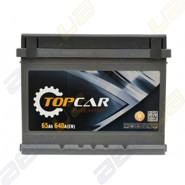 Аккумулятор TOP CAR Premium 65Ah R+ 640A