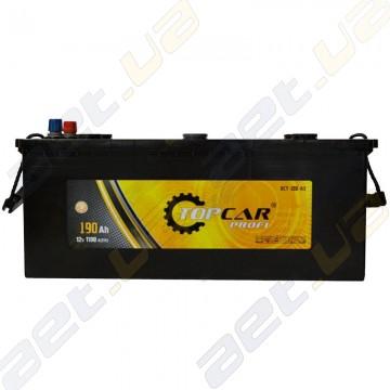 Вантажний акумулятор TOP CAR 6СТ 190Ah L+ 1100A