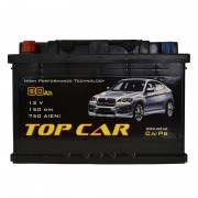 TOP CAR 80Ah L+ 750A