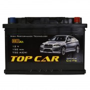 TOP CAR 80Ah R+ 750A