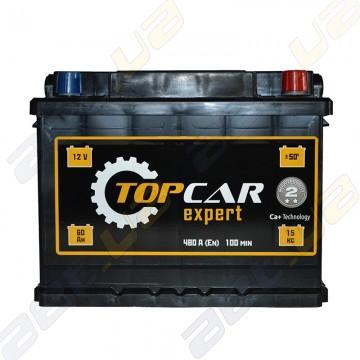 Аккумулятор TOP CAR Expert 60Ah R+ 480A