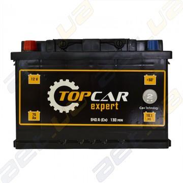 Аккумулятор TOP CAR Expert 75Ah L+ 540A