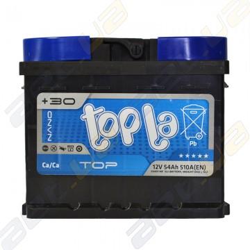 Аккумулятор Topla TOP 54Ah R+ 510A (EN) (низкобазовый)