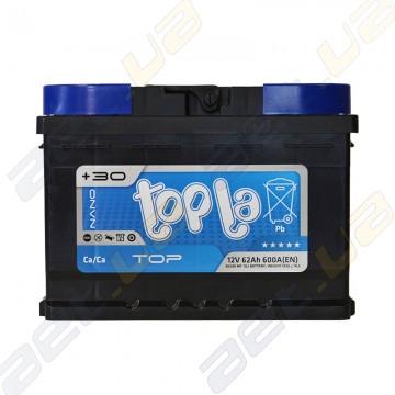 Аккумулятор Topla TOP 62Ah R+ 600A (низкобазовый)