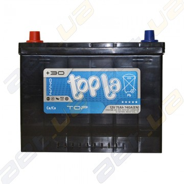 Автомобильный аккумулятор Topla TOP 75Ah JL+ 740A (EN)