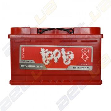 Аккумулятор Topla Energy 100Ah R+ 800A (Короткая)
