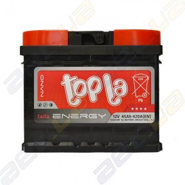 Аккумулятор Topla Energy 45Ah L+ 420A (низкобазовый)