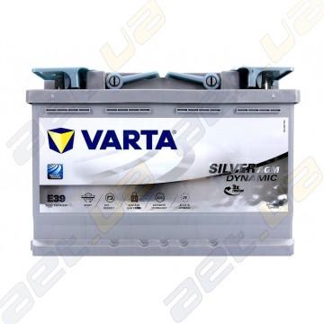 Аккумулятор Varta Silver Dynamic AGM 70Ah R+ 760A (EN)