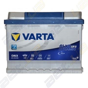 Аккумулятор Varta Blue Dynamic Start-Stop EFB (D53) 60Ah R+ 560A(EN)
