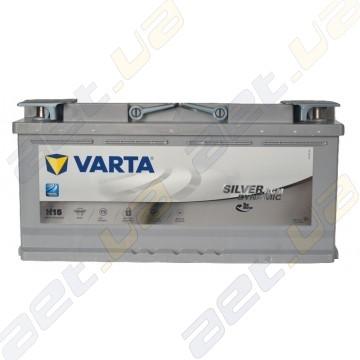 Аккумулятор Varta Silver Dynamic AGM 105Ah R+ 950A (EN)