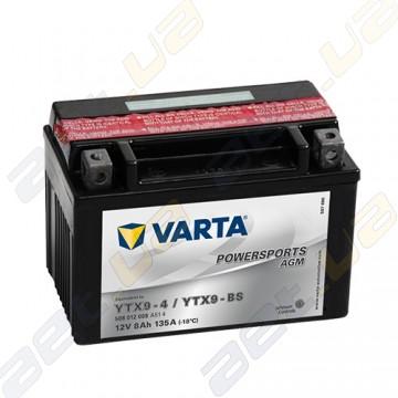 Мото аккумулятор Varta PS AGM (YTX9-BS) 12V 8Ah 135A L+