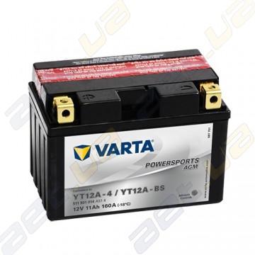 Мото аккумулятор Varta PS AGM (YT12A-BS) 12V 11Ah 160A L+