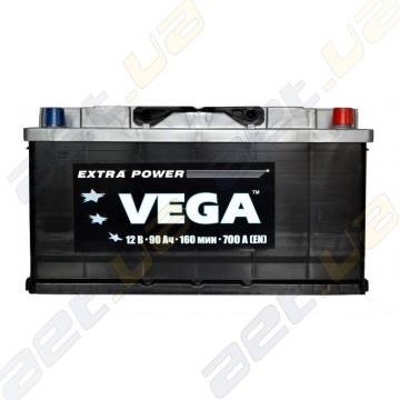 Аккумулятор Vega 90Ah R+ 700A