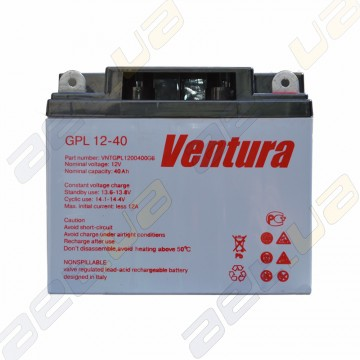 Аккумулятор Ventura GPL 12v 40Ah