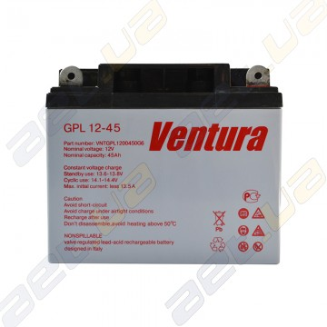 Аккумулятор Ventura GPL 12v 45Ah