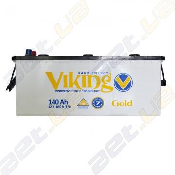 Аккумулятор Viking Gold 140Ah L+ 850A (EN)