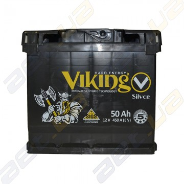 Аккумулятор Viking Silver 50Ah R+ 450A