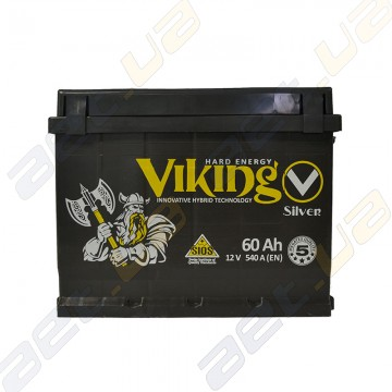 Аккумулятор Viking Silver 60Ah R+ 540A