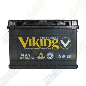 Аккумулятор Viking Silver 74Ah R+ 750A