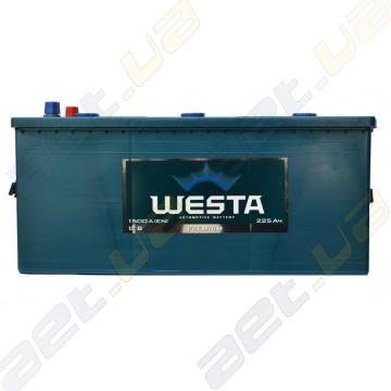 Грузовой аккумулятор WESTA 225Ah L+ 1500A