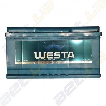 Аккумулятор WESTA 100Ah L+ 850A