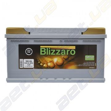 Аккумулятор Blizzaro Nanogold EFB Start-Stop 100Ah R+ 920A (EN)