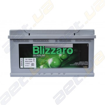 Аккумулятор Blizzaro Silverline 100Ah R+ 860A
