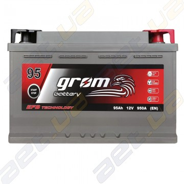 Аккумулятор Grom Battery 95Ah 950A R+ (EN) EFB