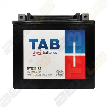 Аккумулятор TAB MYTX14-BS AGM 12Ah 160A L+