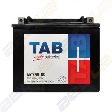 Аккумулятор TAB MYTX20L-BS AGM 18Ah 240A R+