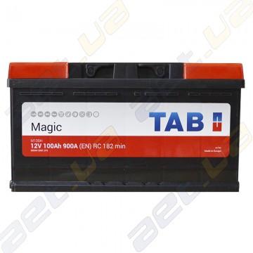 Аккумулятор автомобильный Tab Magic 6CT-100Ah R+ 900A (EN)