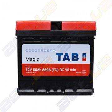 Автомобильный аккумулятор TAB Magic 55Аh R+ 560A (En)