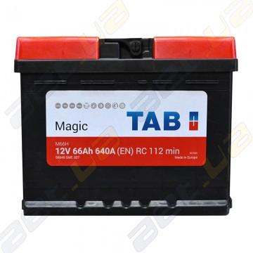 Аккумулятор автомобильный TAB Magic 66Ah R+ 640А (En)