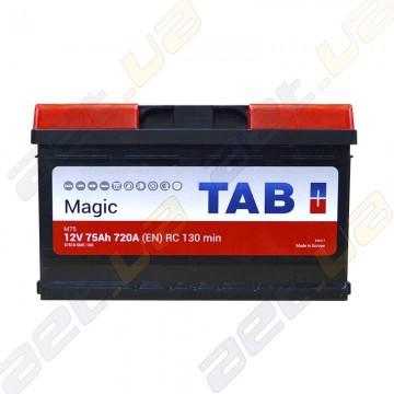 Аккумулятор TAB Magic 6CT-75Ah R+ 720A (EN) низкобазовый купить по лучшей цене | AET.ua