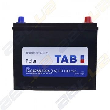 Аккумулятор автомобильный Tab Polar 60AH JR+ 600 EN