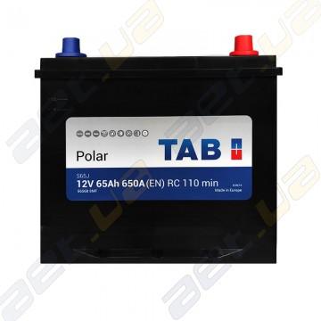 Аккумулятор TAB Polar 65Ah JR+ 650 (EN)