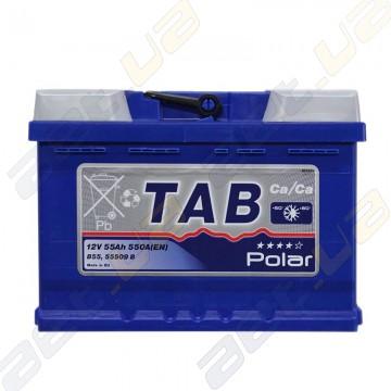 Аккумулятор автомобильный TAB Polar Blue 55Ah R+ 550A (En) низкобазовый