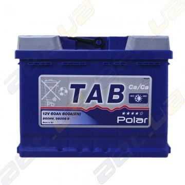 Аккумулятор Tab Polar Blue 60AH R+ 600 EN