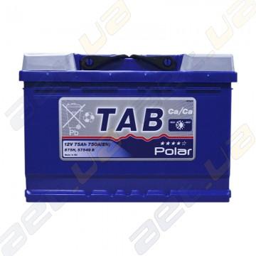 Аккумулятор Tab Polar Blue 75AH R+ 750A (EN)