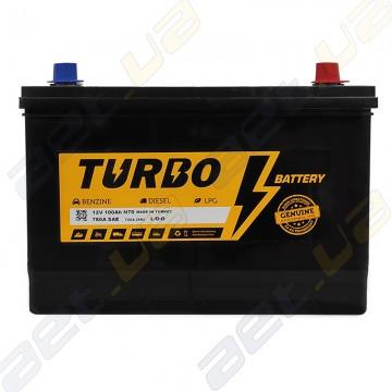 Автомобильный аккумулятор Turbo Asia 100Ah JR+ 780A