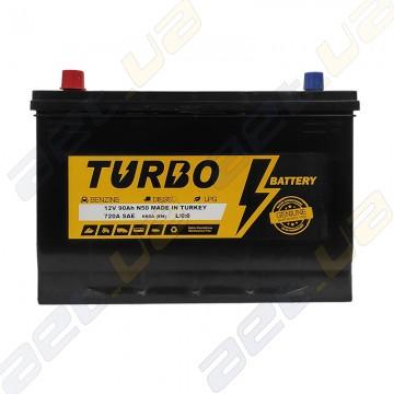 Автомобильный аккумулятор Turbo Asia 90Ah JL+ 720A