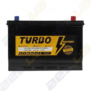 Автомобильный аккумулятор Turbo Asia 90Ah JR+ 720A