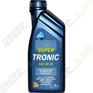 Моторное масло Aral Super Tronic 0W-40 (Low SAPS) 1л
