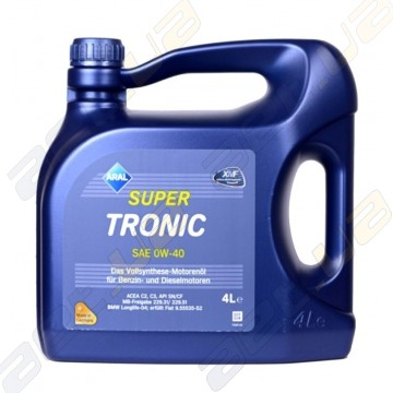 Aral Super Tronic 0W-40 (Low SAPS) 4л