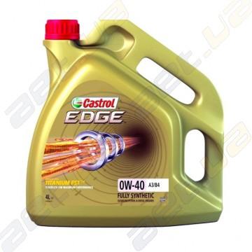 Моторне масло Castrol EDGE 0W-40 4л