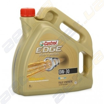 Моторное масло Castrol EDGE Turbo Diesel 0W-30 4л